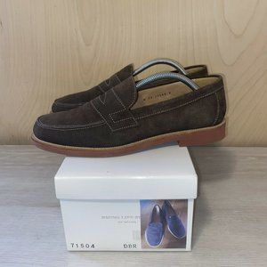 B Ming Life Store By Beams  Brown Suede Loafers 9